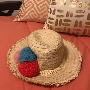 Girls Panama hat